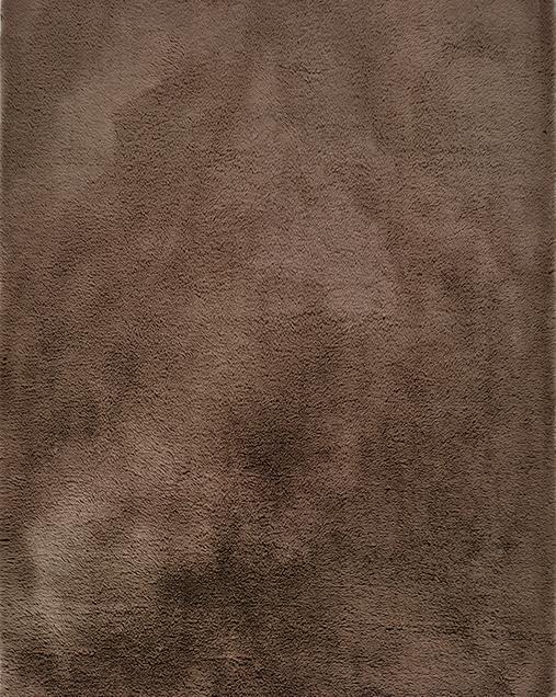 Alfombra Shaggy de pelo largo Alpaca Liso Vison