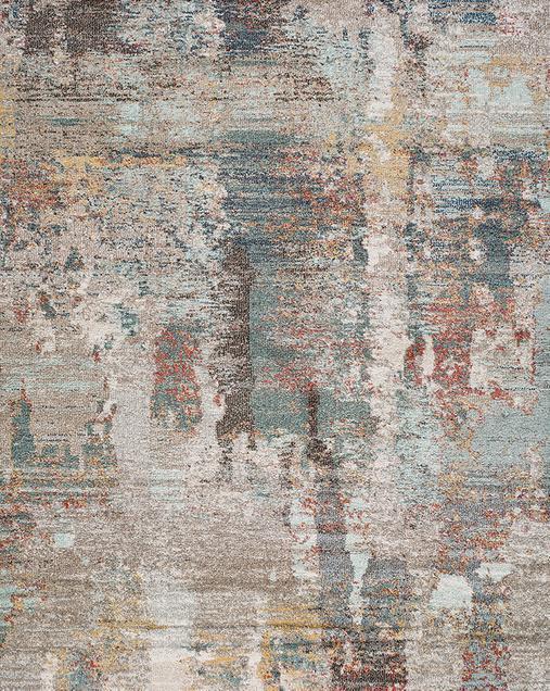 Alfombra Abstracta de estilo Vintage Amira 20073 Multi