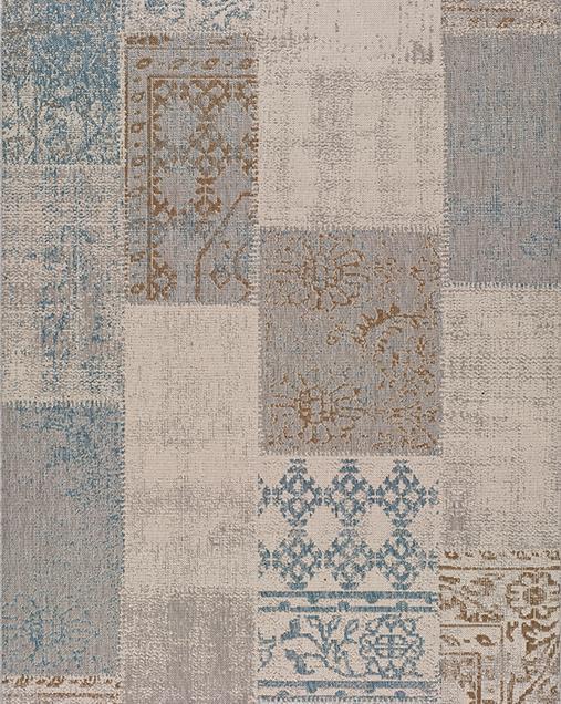 Alfombra Étnica Bilma 19072 Azul