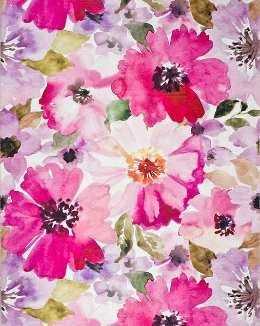 Alfombra con motivos Florales Bouquet 92 Multi