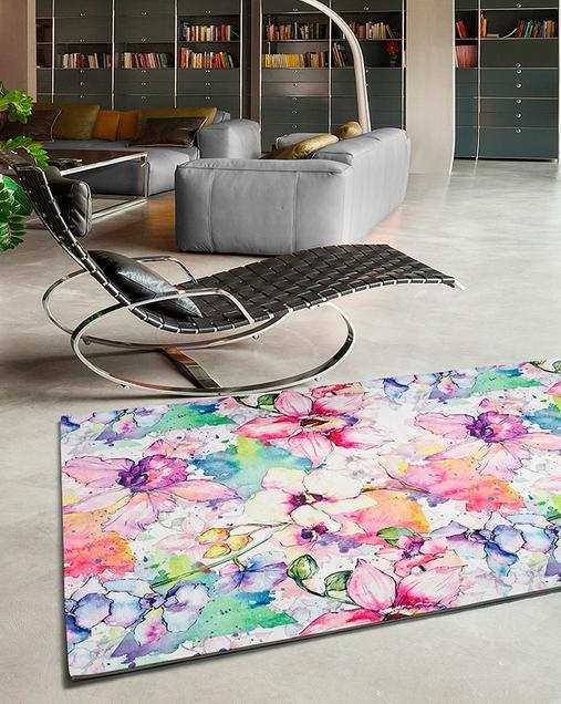 Alfombra con motivos Florales Bouquet 95 Multi