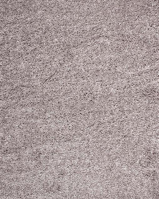 Alfombra Shaggy de pelo largo en color liso Catay 8507 Gris