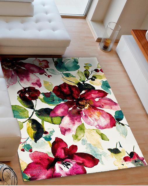 Alfombra con motivos Naturales y Florales Colors 21854 Multi