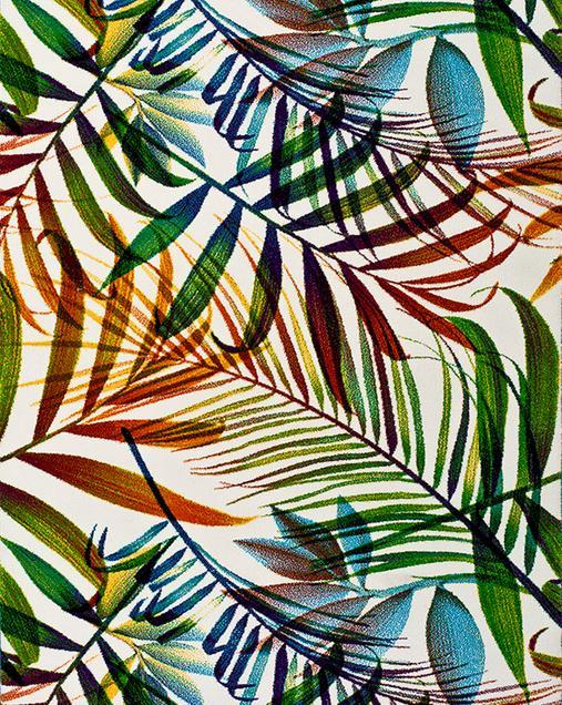 Alfombra con motivos Naturales y Florales Colors 22373 Multi