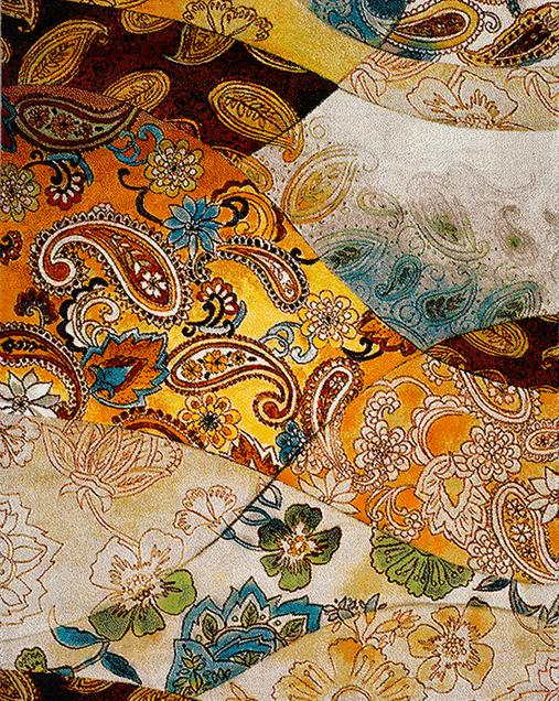 Alfombra Patchwork de inspiración Étnica Colors 24175 Multi