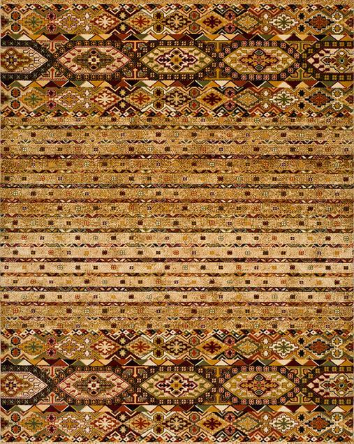 Alfombra Étnica con toques Tradicionales Deir 10064 Beig