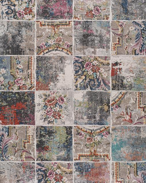 Alfombra Moderna con motivos florales Floret 54500 Multicolor