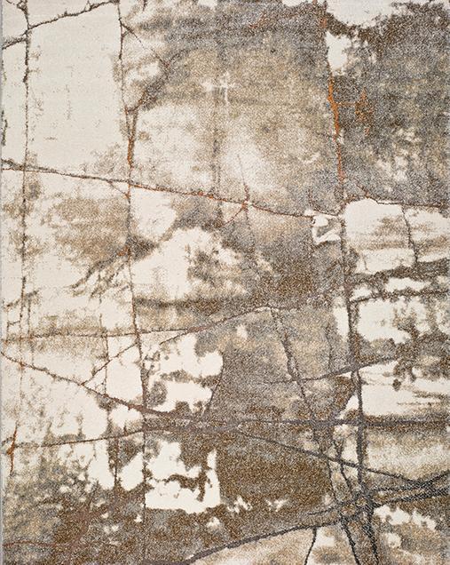 Alfombra Vintage inspirada en la Naturaleza Kael 20850 Gris