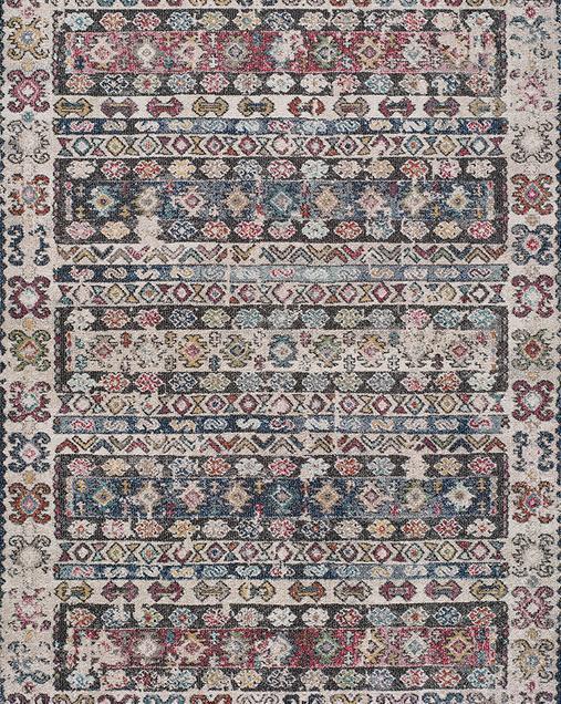 Alfombra Étnica de estilo Vintage Mirva 54503 Multi