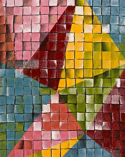 Alfombra Patchwork de Arte Abstracto Moar 16470 Multi