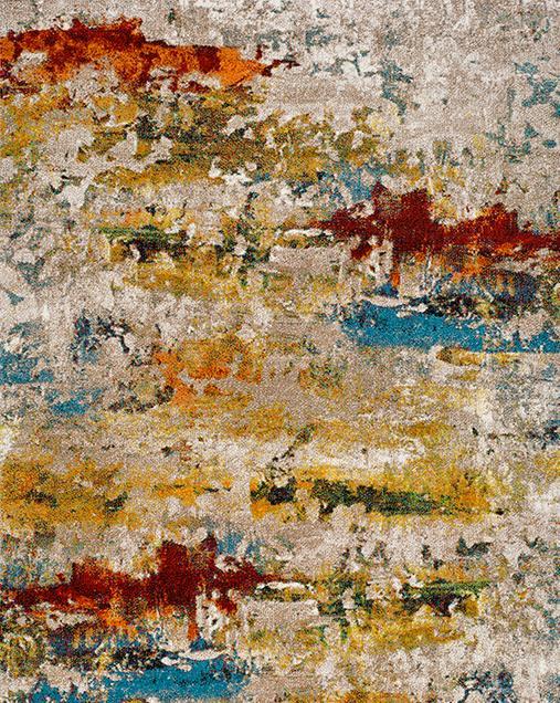 Alfombra de Arte Abstracto Naia 24271 Multi