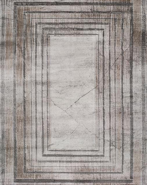 Alfombra Abstracta Tebas 50007 Gris