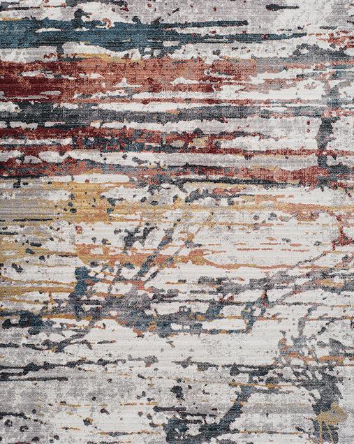 Alfombra Abstracta de estilo Vintage Tivoli 3711 Multi
