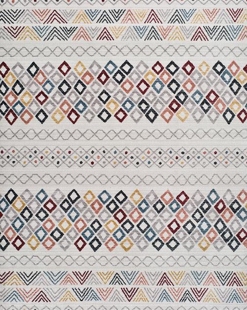 Alfombra Étnica de estilo Vintage Tivoli 3907 Multi