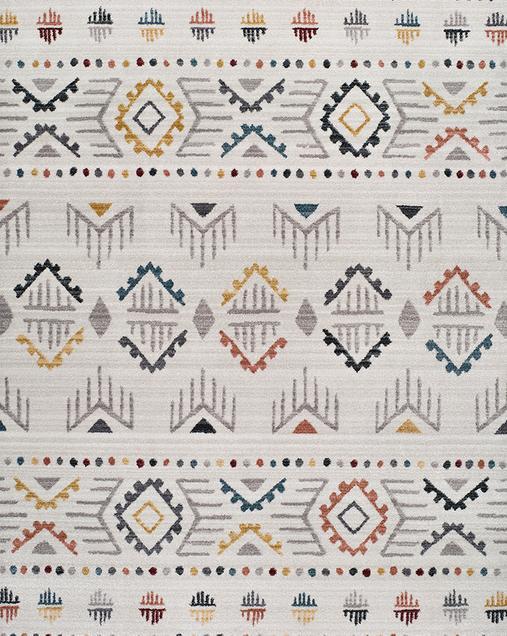 Alfombra Étnica de estilo Vintage Tivoli 3910 Multi