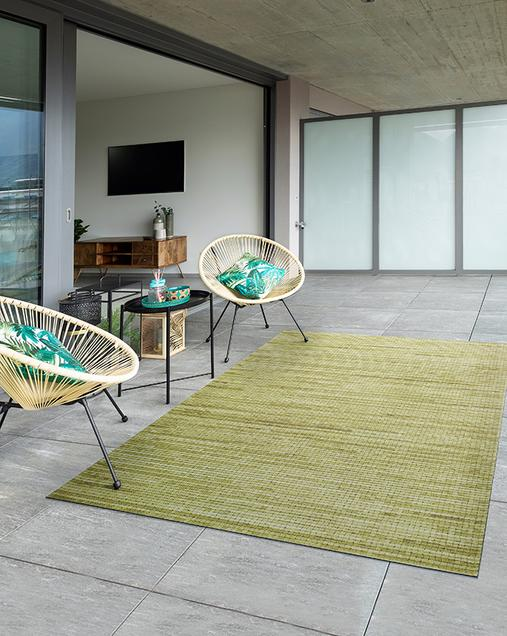 Alfombra Lisa Indoor-Outdoor Vision 901 Mostaza