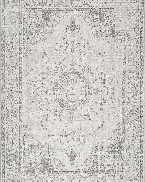 Alfombra Tradicional con toque Vintage Weave 8148 Gris