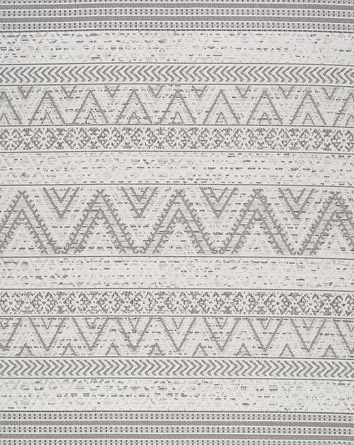 Alfombra Étnica  Indoor-Outdoor Weave 814 Gris