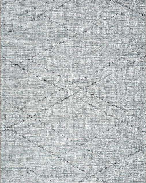 Alfombra Étnica de estilo Vintage Weave 9315 Azul